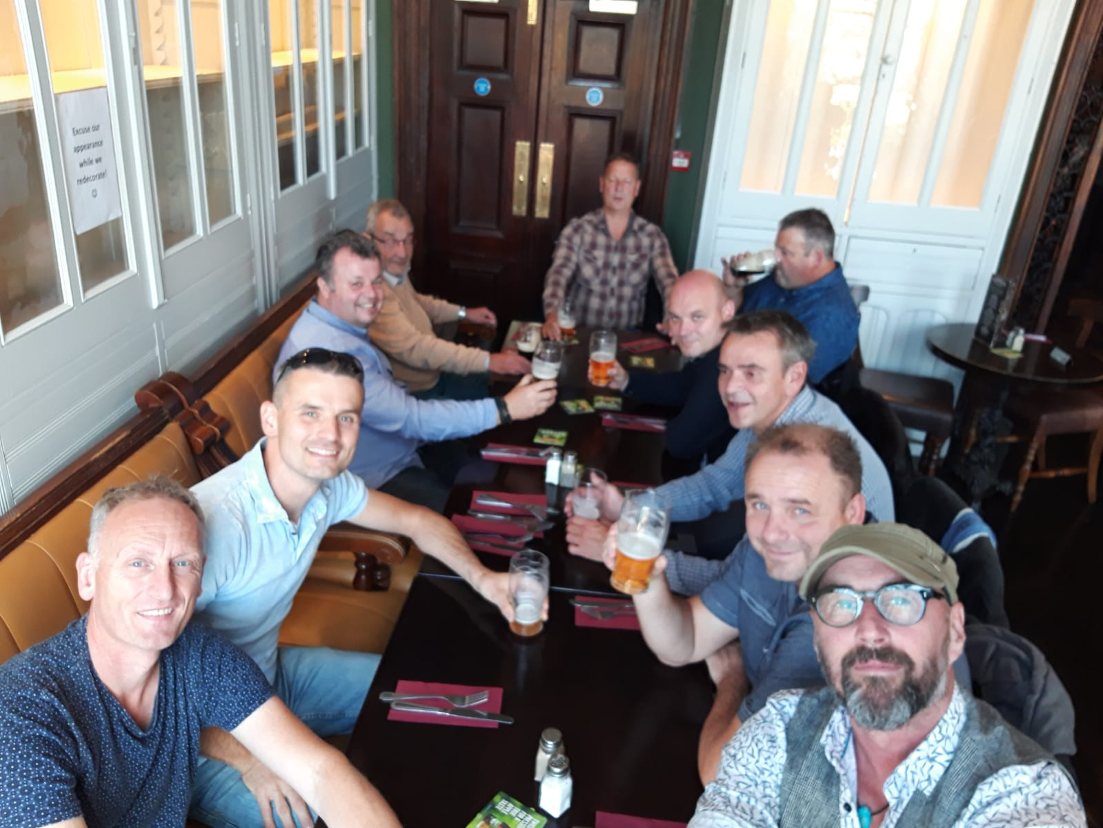 "Veteranen ""on tour to Dublin"